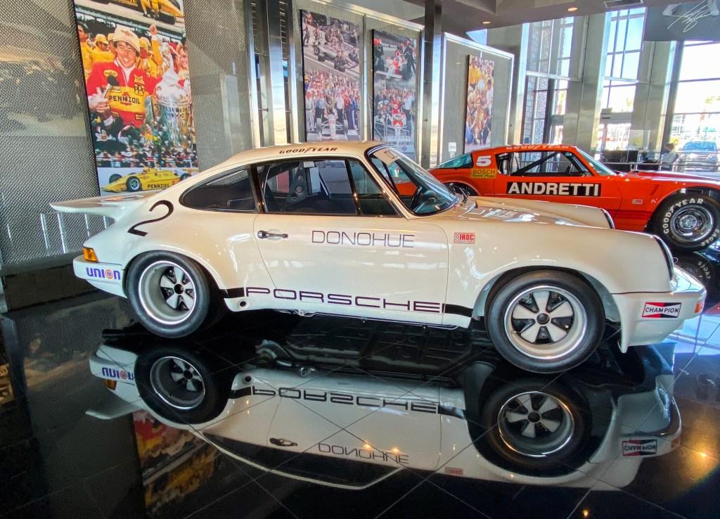 Mark Donahue's winning IROC 911 at the Penske Racing Museum