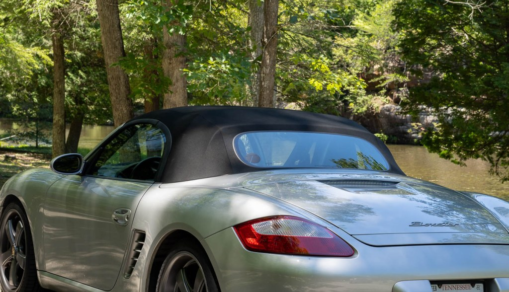 Porsche Boxster with Type7 decal